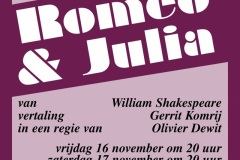 2001 november - Romeo en Julia